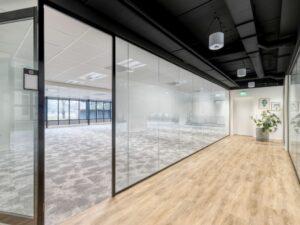 Kantoor etage vloeren systeemwanden